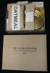BRITSKÉ ANGLICKÉ KD REPRO WWII BRITISH THE 24 HOUR RATION BOX