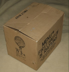 WWII US KRABICE 5 RATIONS